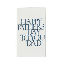 Oblation Papers & Press Happy Father's Day Stonecarved Greeting