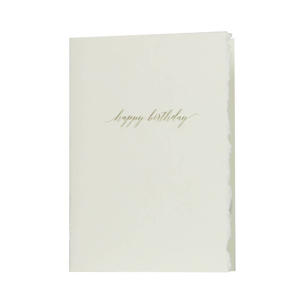 Oblation Papers & Press Glimmer Note Happy Birthday
