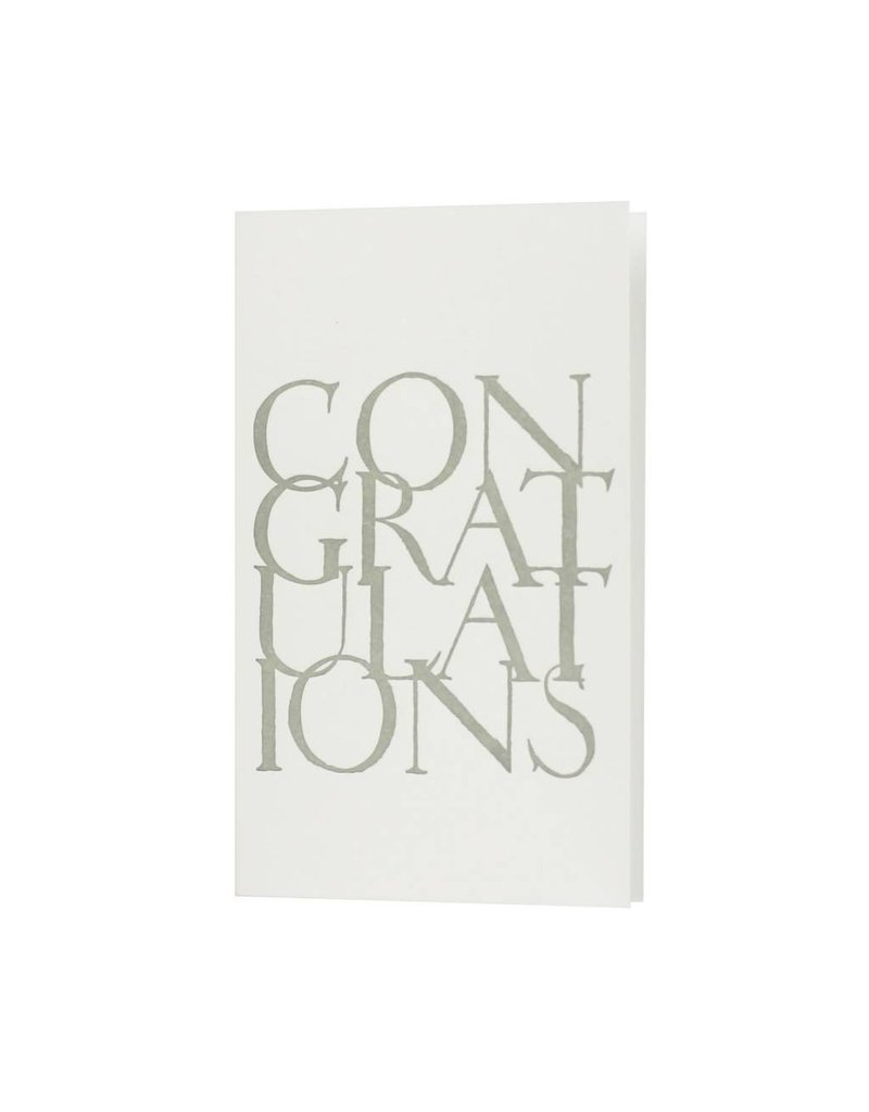 Oblation Papers & Press Congratulations Stonecard Greeting
