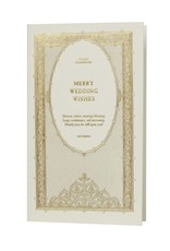 Oblation Papers & Press William Shakespeare Merry Wedding Wishes