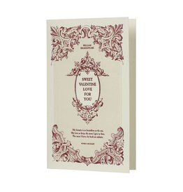 Oblation Papers & Press William Shakespeare Sweet Valentine