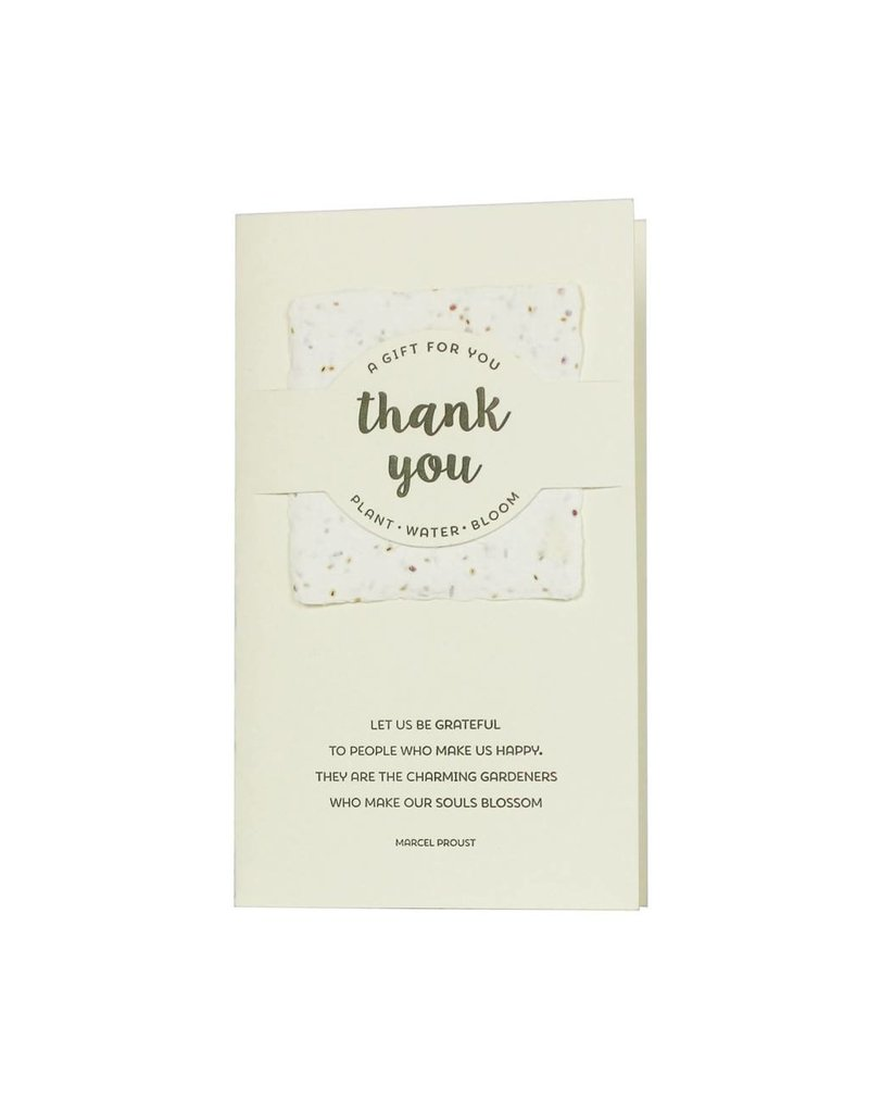 Oblation Papers & Press wildflower mix notes - thank you