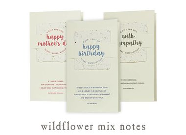 wildflower mix notes