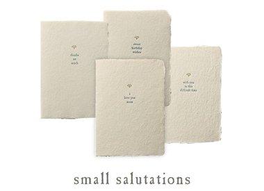 small salutations