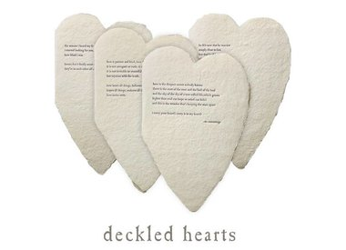 deckled hearts