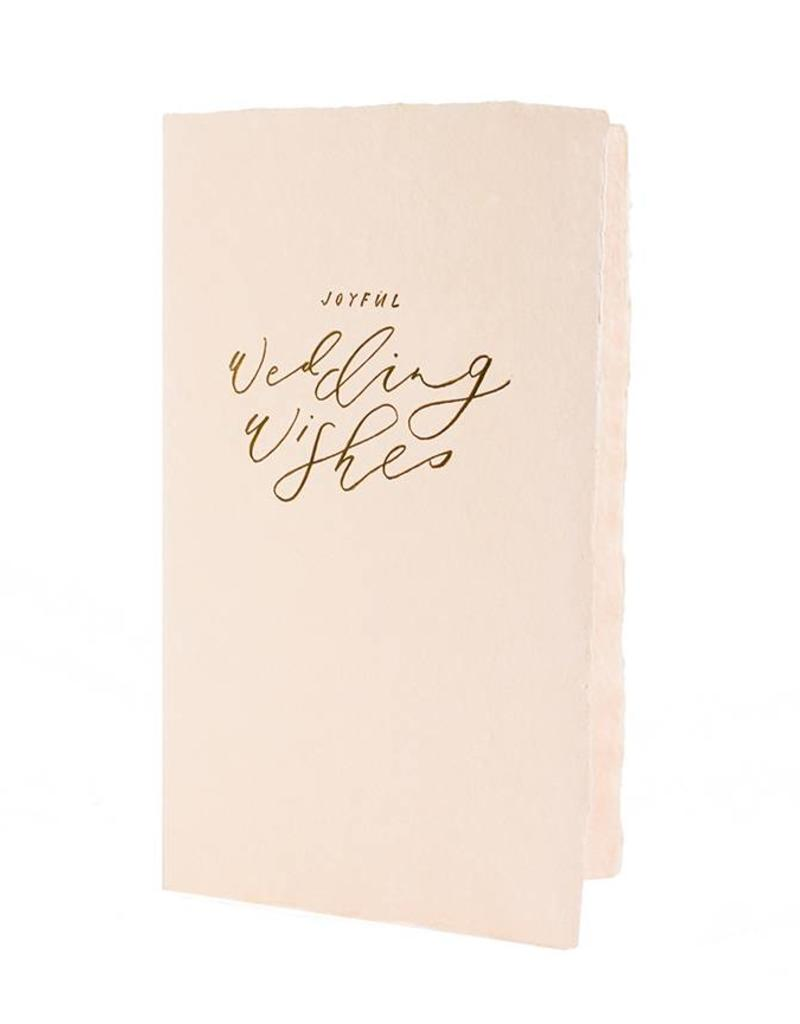 Oblation Papers & Press calligraphy notes - wedding wishes
