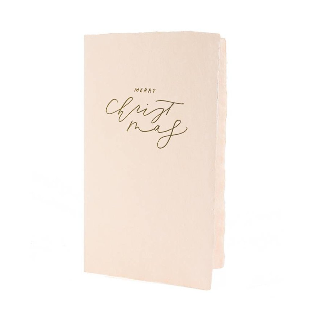 Oblation Papers & Press Merry Christmas Calligraphy Note