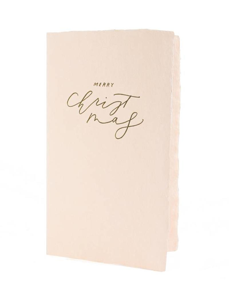 Oblation Papers & Press calligraphy notes - christmas
