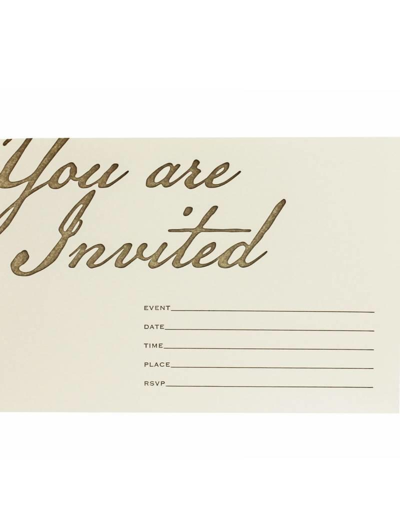 Fill In Invitations You Are Invited Box Of Eight Oblation