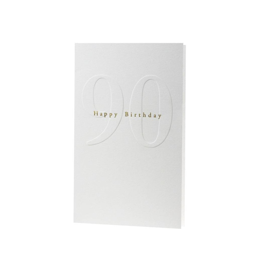 Oblation Papers & Press Gilded Age Happy Birthday 90