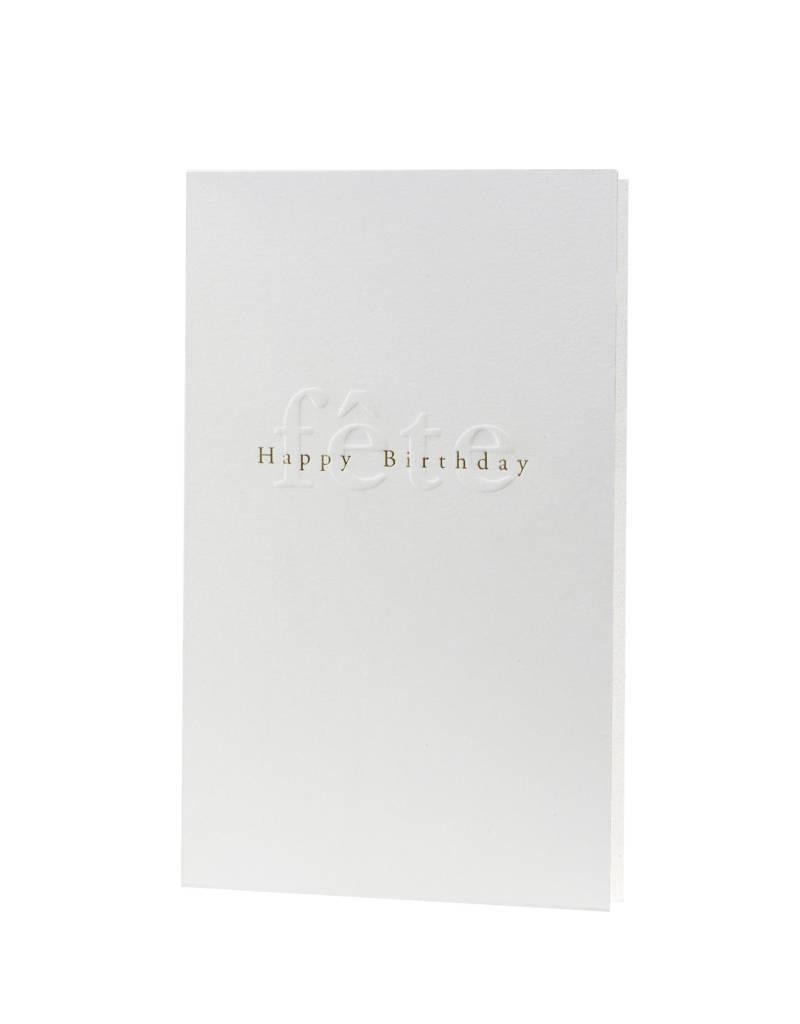 Oblation Papers & Press gilded age notes -fête happy birthday