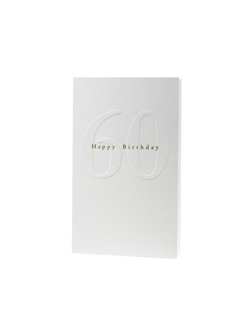 Oblation Papers & Press Gilded Age Happy Birthday 60