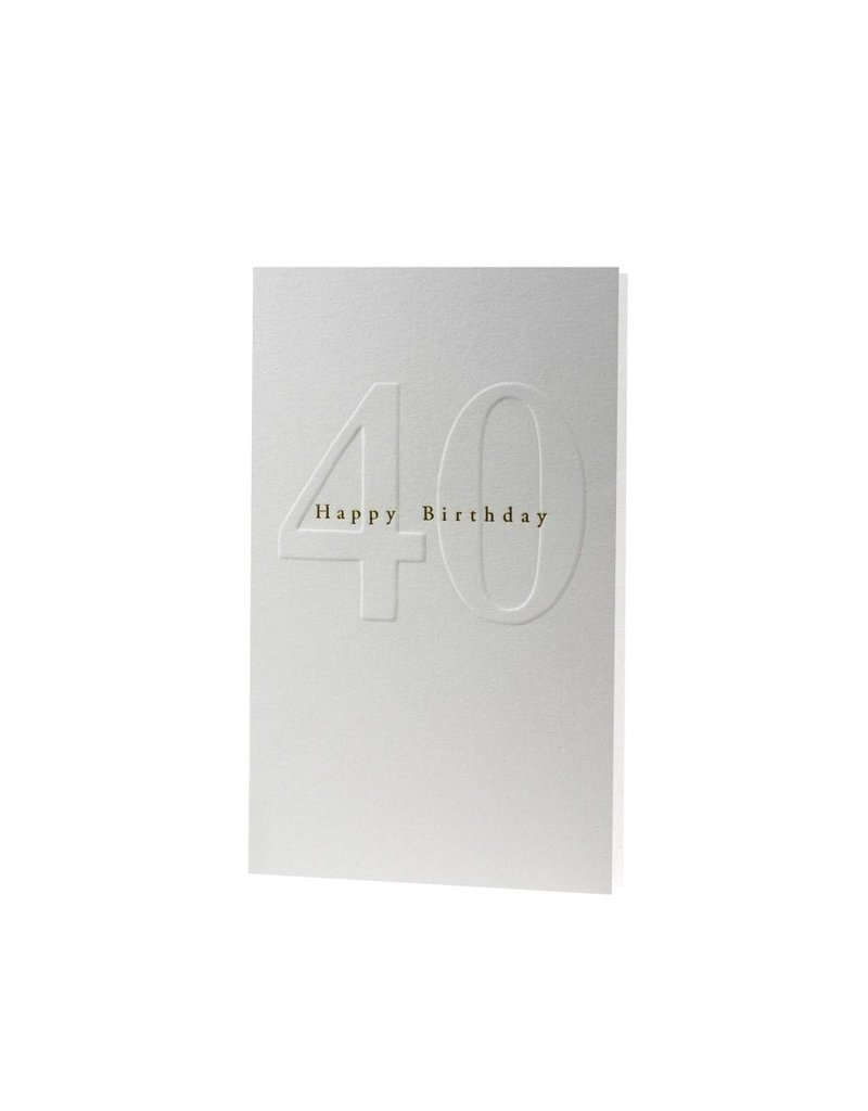 Oblation Papers & Press gilded age notes - 40th birthday