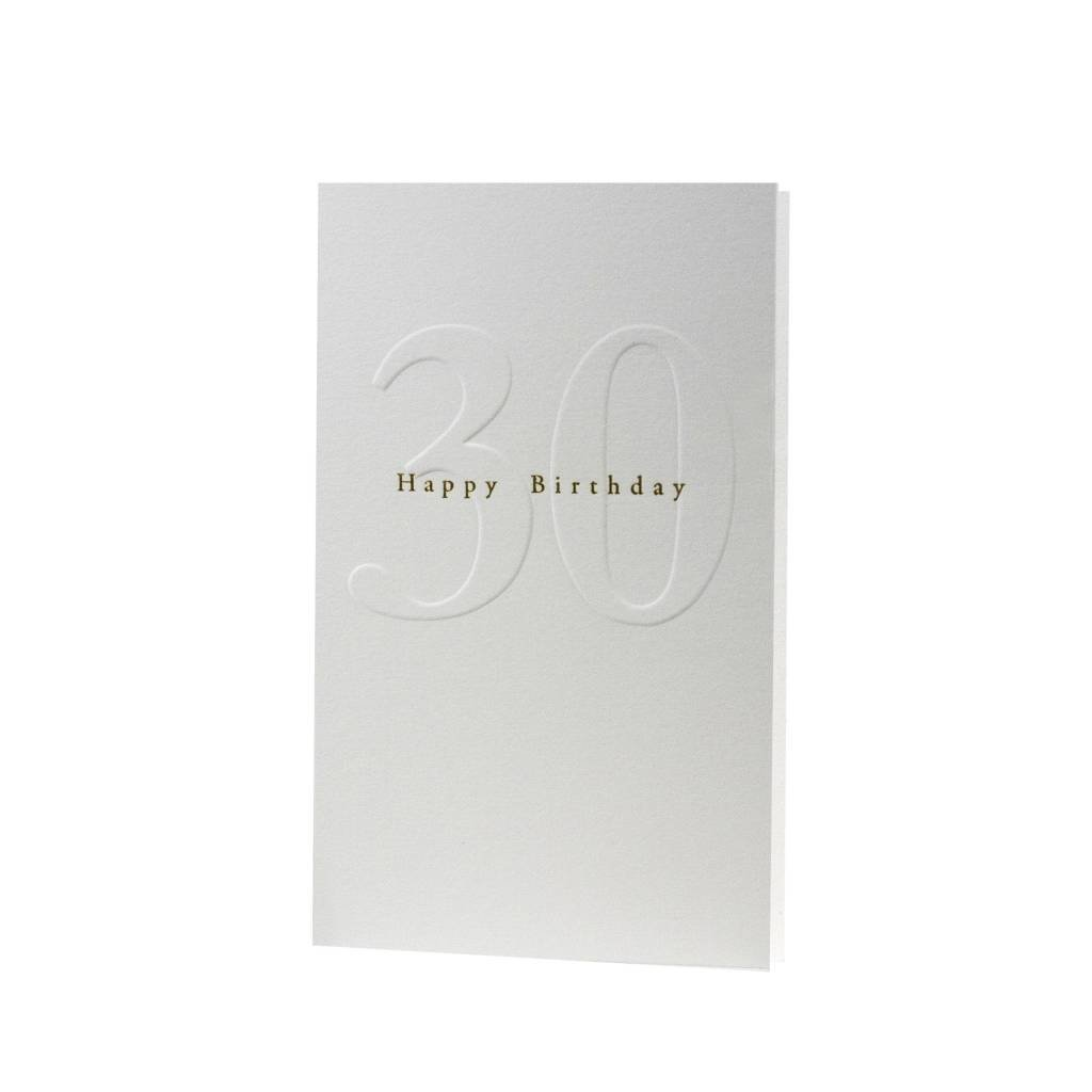 Oblation Papers & Press Gilded Age Happy Birthday 30
