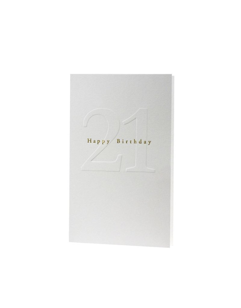 Oblation Papers & Press Gilded Age Happy Birthday 21