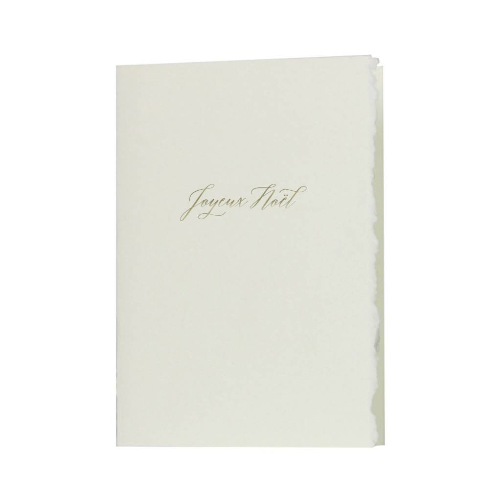 Oblation Papers & Press Glimmer Note Joyeux Noel