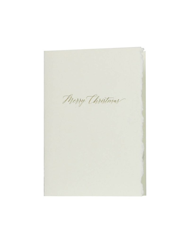 Oblation Papers & Press Merry Christmas Glimmer Note