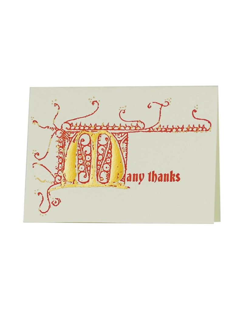 Oblation Papers & Press thank you notes - gutenberg