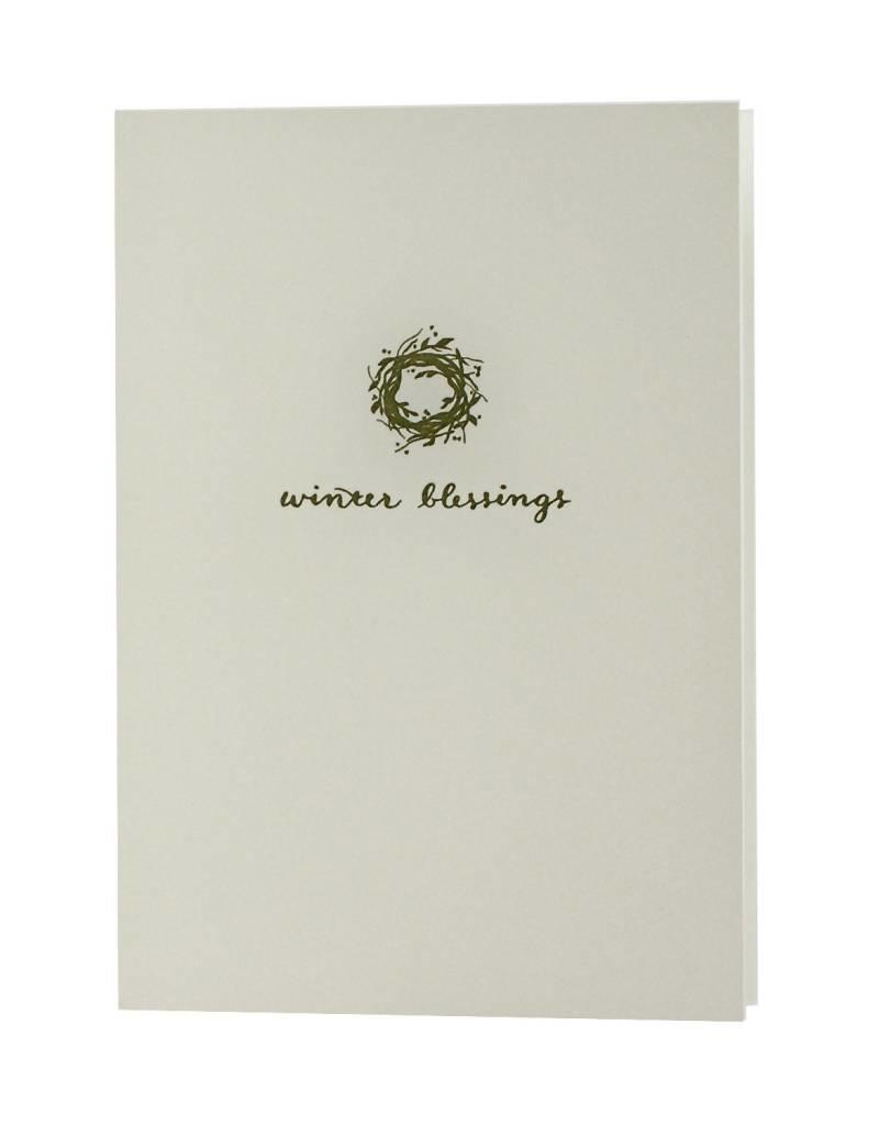 Oblation Papers & Press Winter Blessings Motif