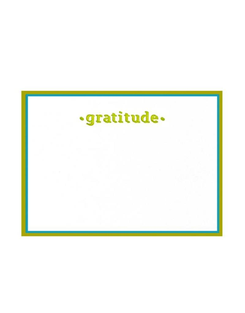 Oblation Papers & Press painted edge cards - gratitude