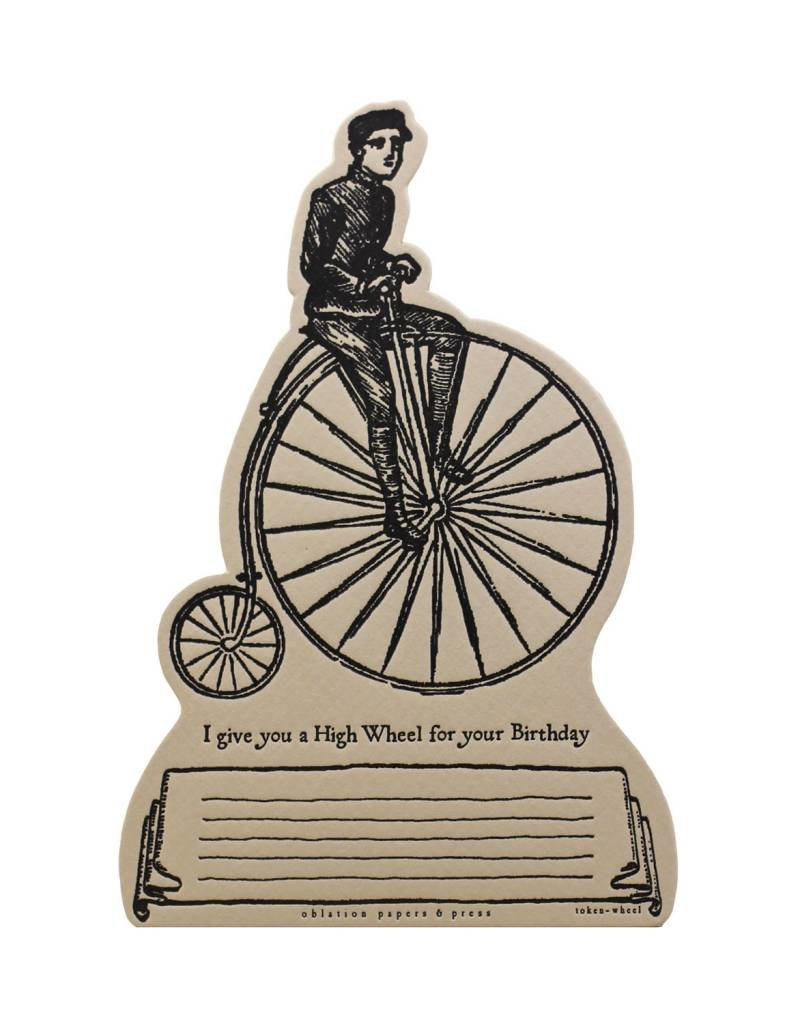 Oblation Papers & Press tokens - wheel