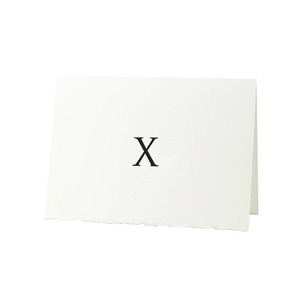 Oblation Papers & Press Trajan Monogram X