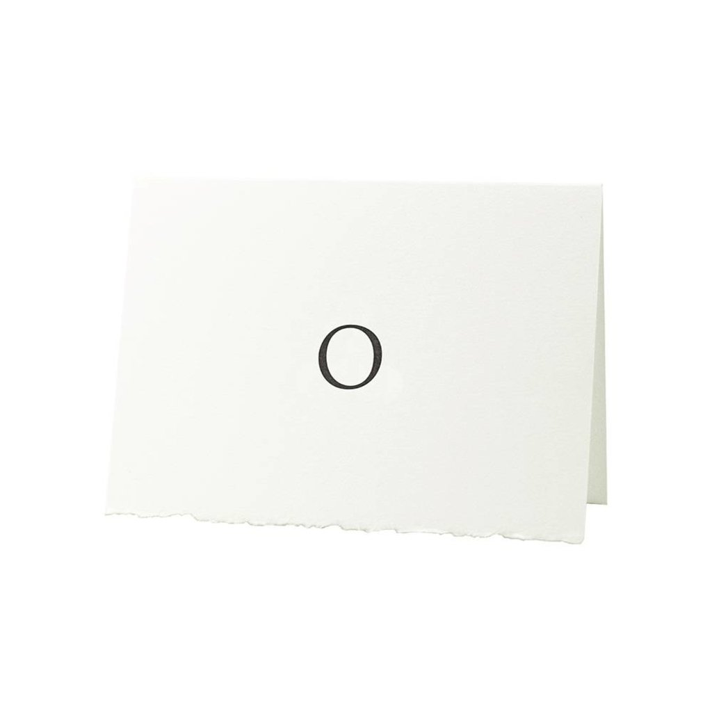 Oblation Papers & Press Trajan Monogram O