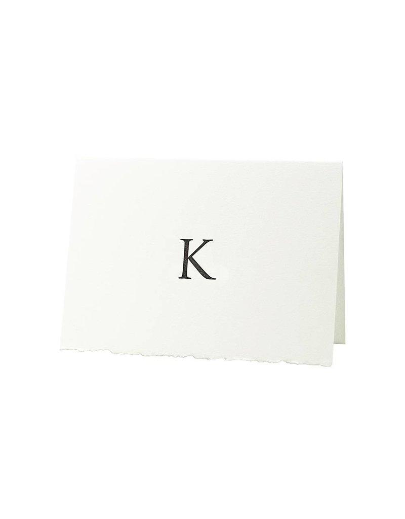 Oblation Papers & Press Trajan Monogram K