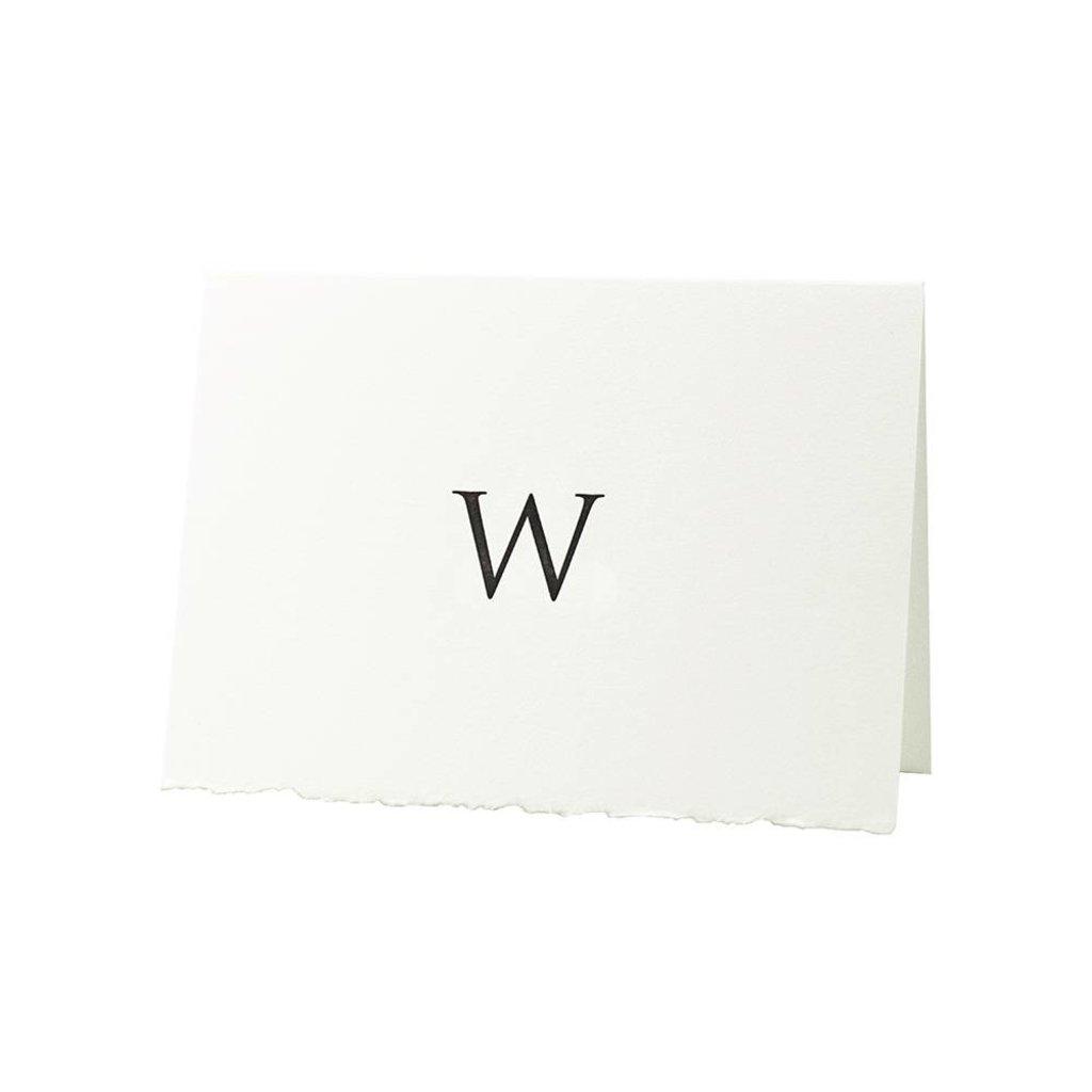 Oblation Papers & Press Trajan Monogram W
