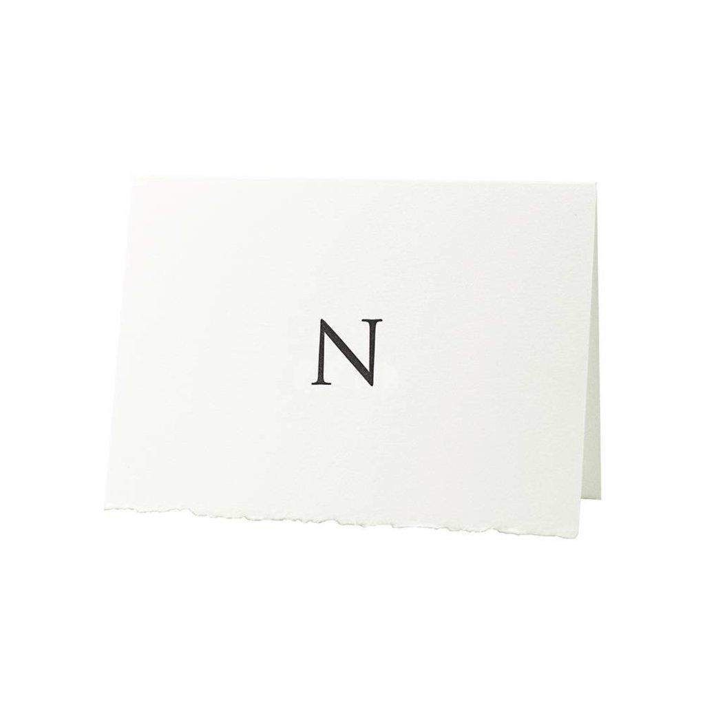 Oblation Papers & Press Trajan Monogram N