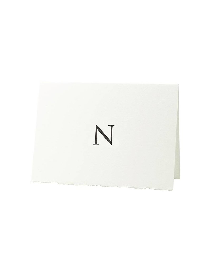 Oblation Papers & Press Trajan Monogram N