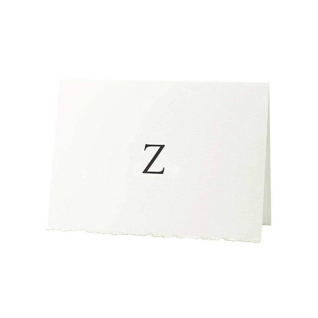 Oblation Papers & Press Trajan Monogram Z