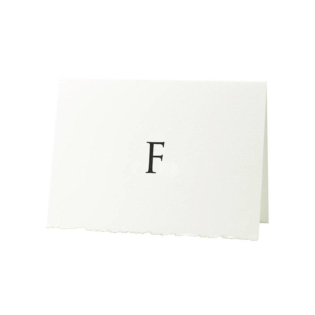 Oblation Papers & Press Trajan Monogram F