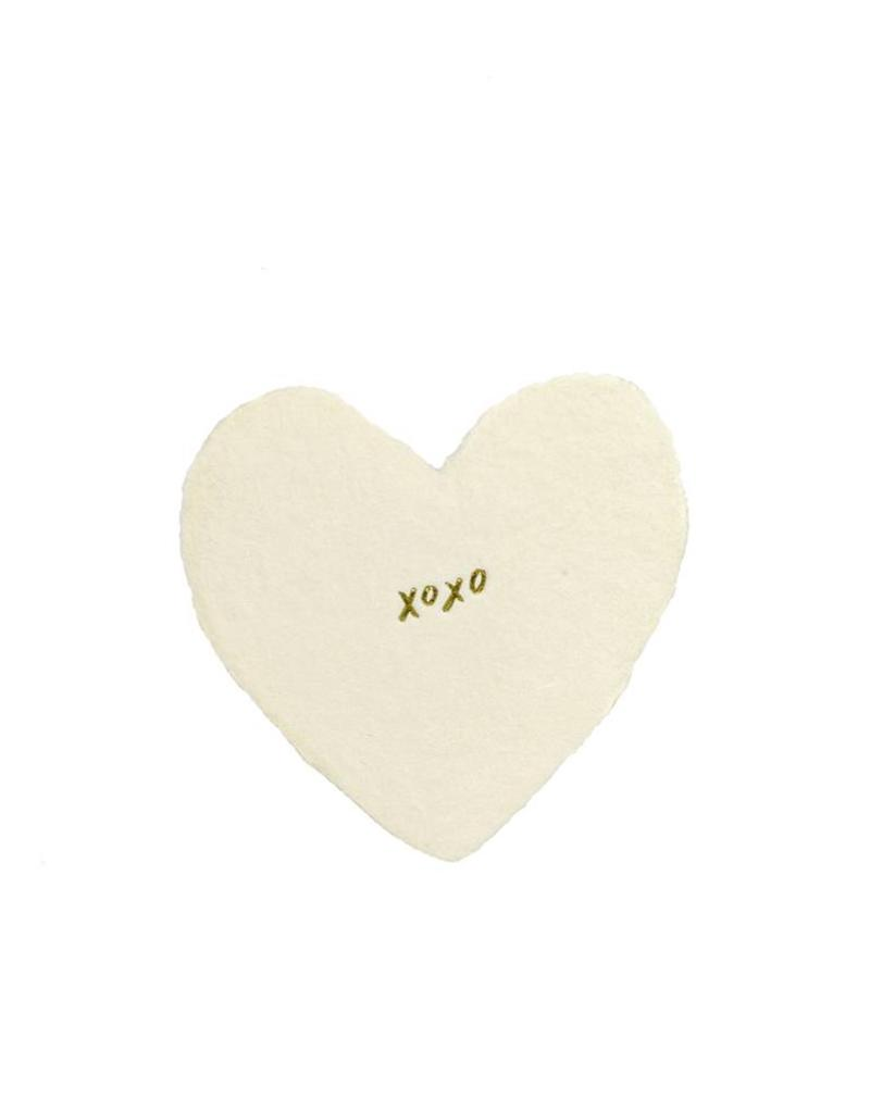 Oblation Papers & Press foiled petite hearts - xoxo