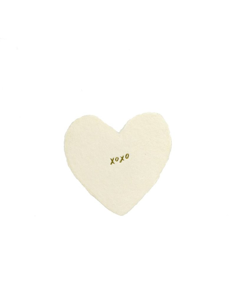 Oblation Papers & Press XOXO Foiled Petite Hearts