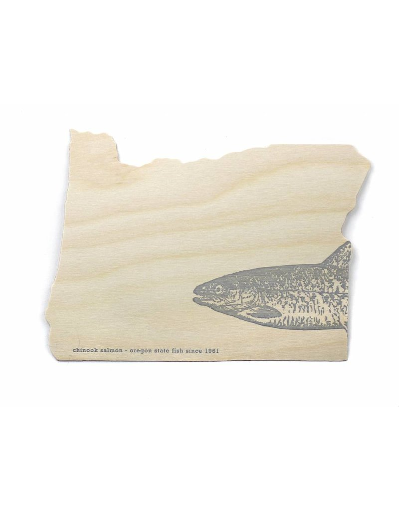 Oblation Papers & Press oregon cards - salmon