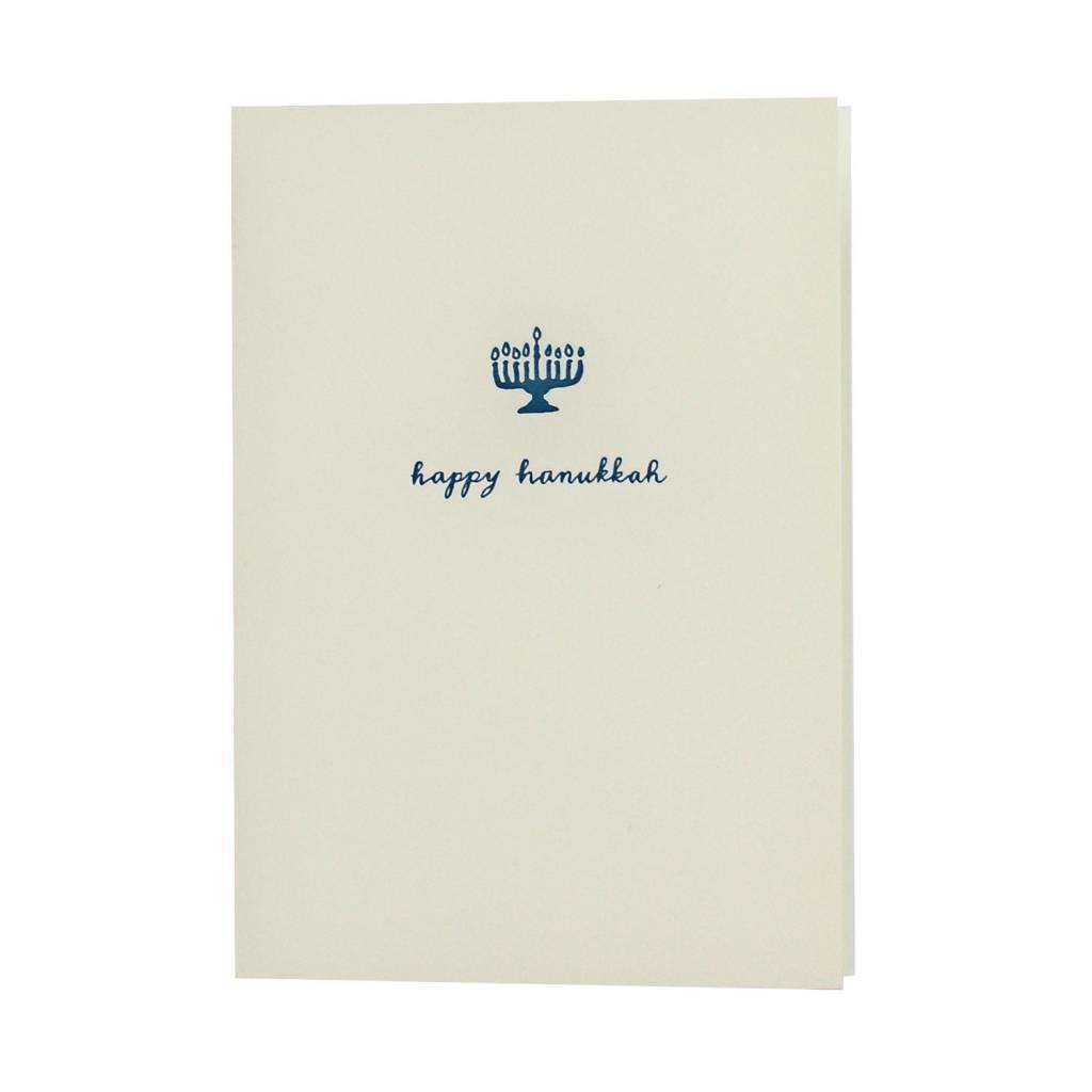 Oblation Papers & Press Happy Hanukkah Motif Note