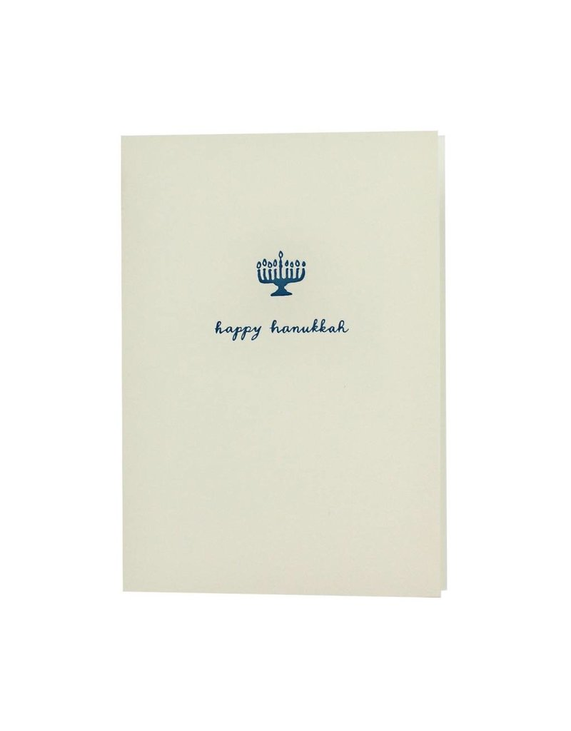 Oblation Papers & Press Happy Hanukkah Motif Note