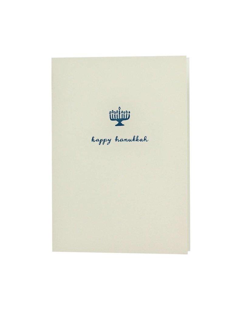 Oblation Papers & Press motif notes - hanukkah