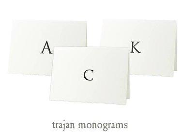 trajan monograms