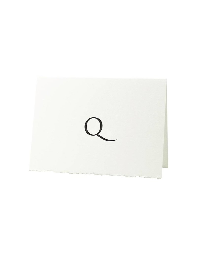 Oblation Papers & Press Trajan Monogram  Q