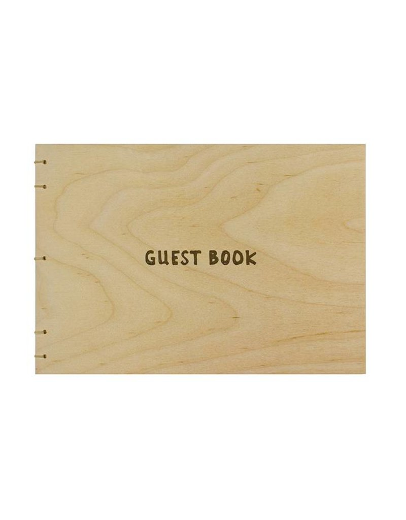 Oblation Papers & Press hardbound guest books - birch coptic guest book