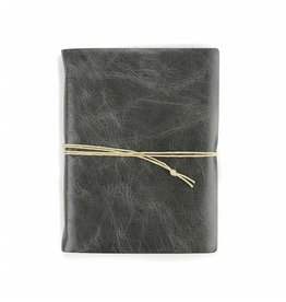 Oblation Papers & Press Small Hand-bound Leather Journal - Smoke