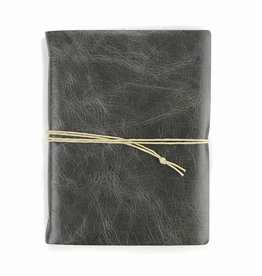Oblation Papers & Press Medium Hand-bound Leather Journal - Smoke