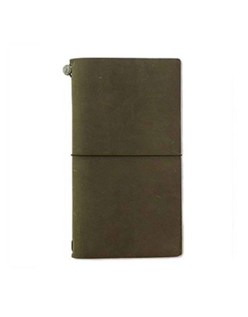 Traveler's Company traveler's company - traveler's notebook - limited edition olive