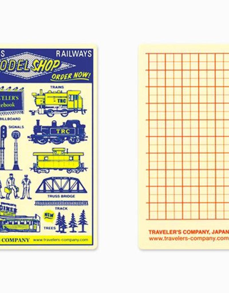 Traveler's Company traveler's company - plastic sheet - passport 2018 diary