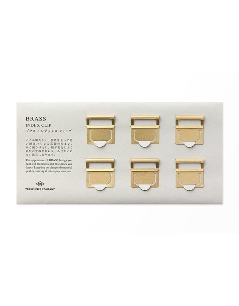 Traveler's Company traveler's company - brass index clips