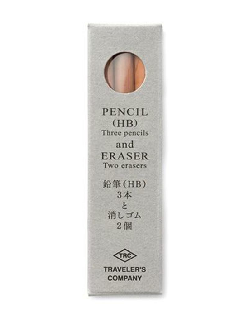Traveler's Company traveler's company - brass pencil refill