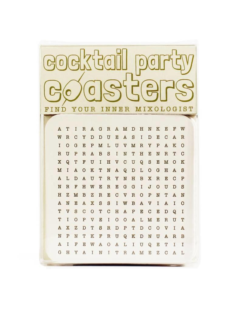 HWG cocktail party coasters