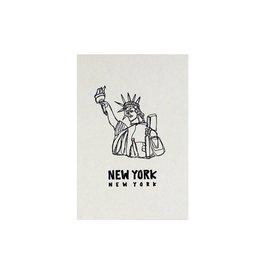 HWG New York Statue of Liberty Postcard